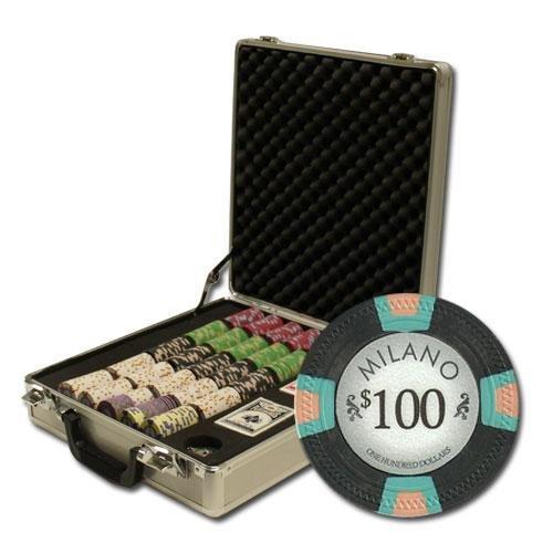 Bry Belly Chip CSML-500CG 500Ct Claysmith Claysmith Belly Gaming Milano Chip Set in Claysmith Case B00OSJO7VM, 上品な:2291308a --- itxassou.fr