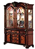 ACME 04079B Chateau de Ville Hutch and Buffet, Cherry Finish