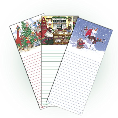 Christmas Notepad (Suzy's Zoo Christmas Notepad 3-Pack 11112)