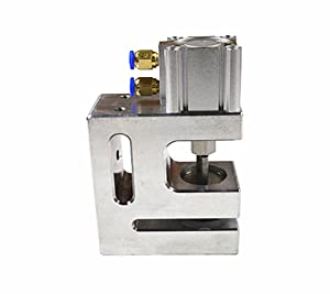 Round Hole Pneumatic Air-Operated Punching Machine for Punching Plastic Film Poly Bag Stationery Bag Food Bag280/Min with 55mm Feeding Length (6mm)