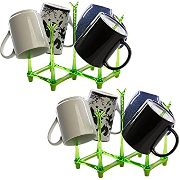 Amazon Com Bottle Drainer Drying Rack For 6 Large Water