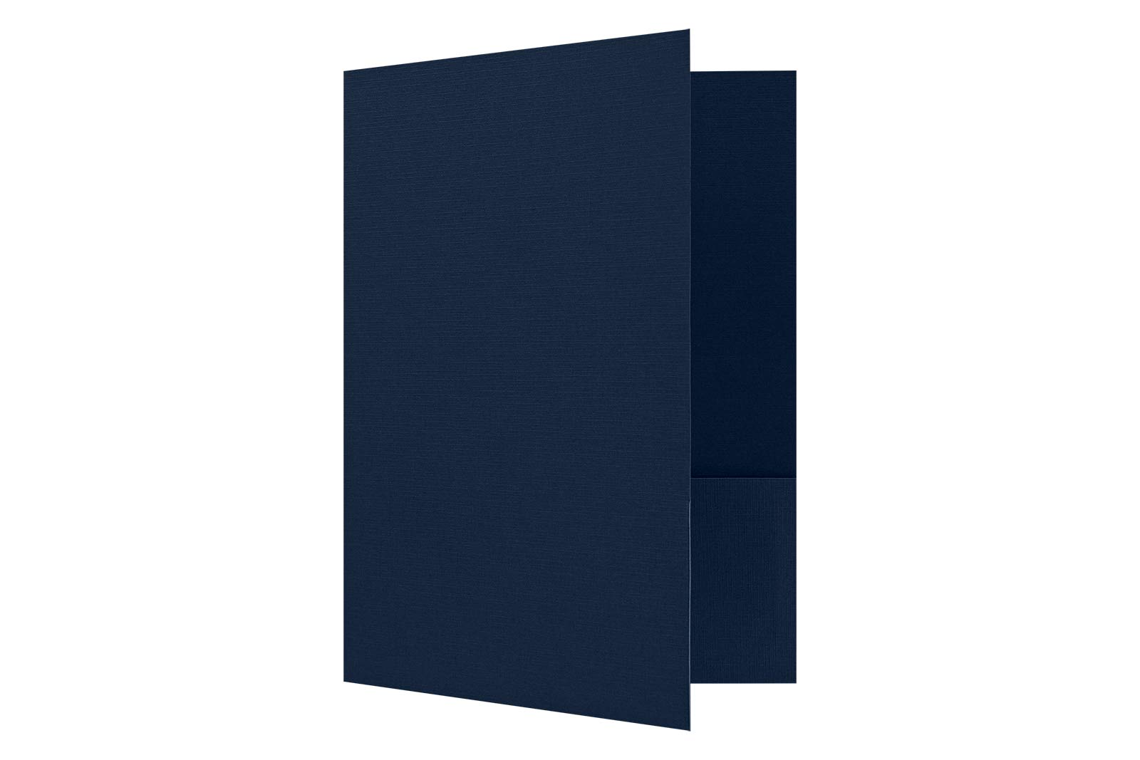 9 x 12 Presentation Folders - Dark Blue Linen - Pack of 25 | Perfect for Tax Season, Brochures, Sales Materials and so Much More! | PF-DBLI-25 by Envelopes.com