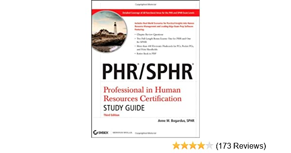 phr / sphr professional in human resources certification study guide ...