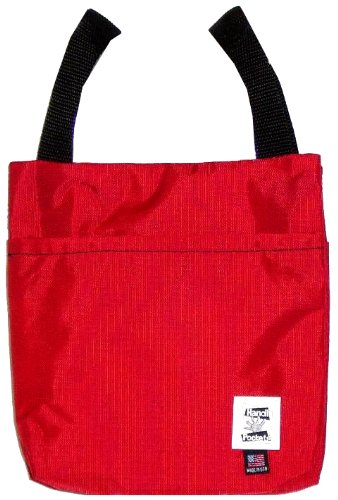 Handi Pockets 1a4rd Storage Accessory Crutch, Nylon, Red by Handi Pockets