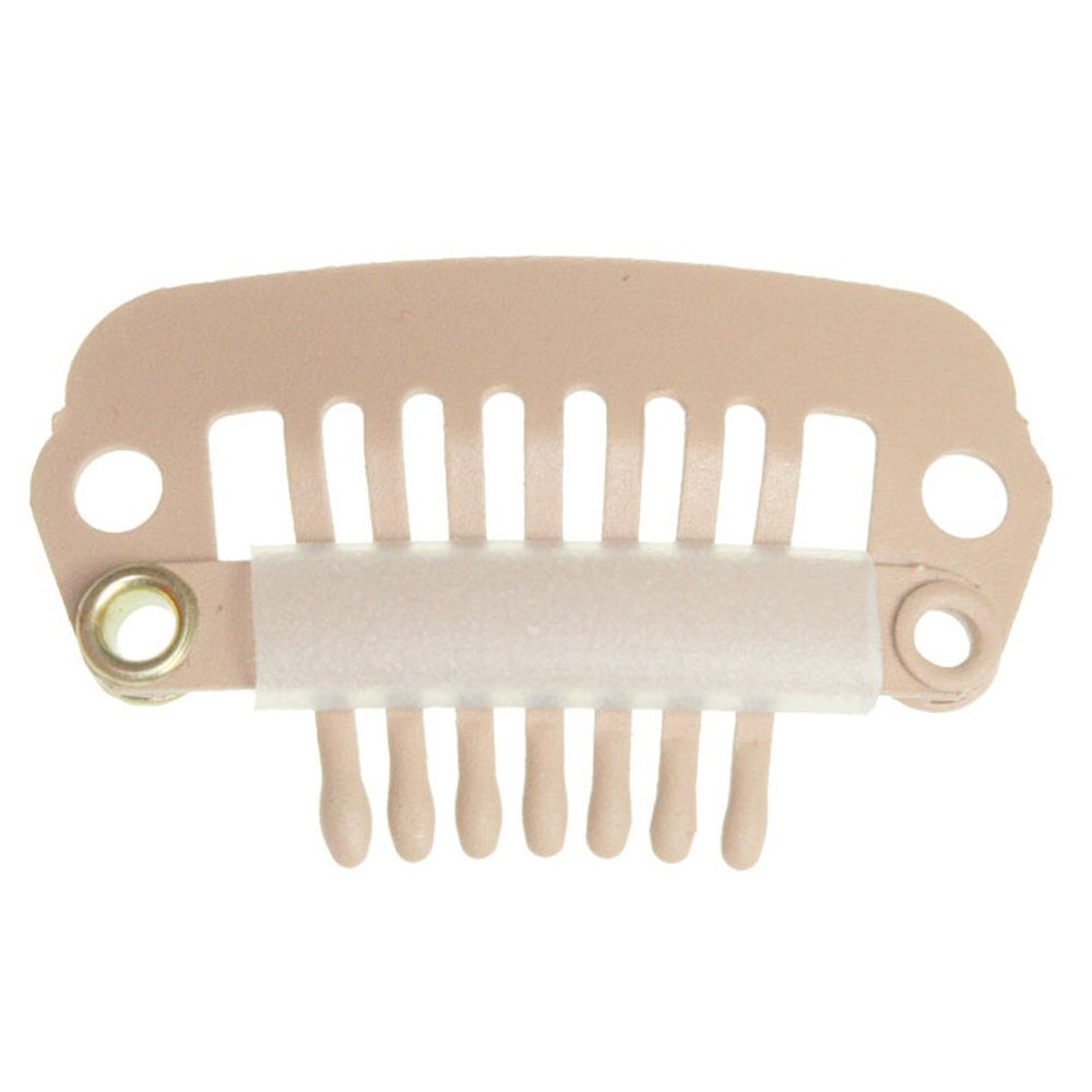 Amazon Clip For Hair Extension Snap Clip For Diy Use Blonde