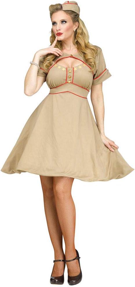Disfraz de mujer militar de los años 40 durante la 2ª Guerra ...