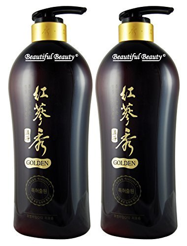 Somang Korean Red Ginseng & Herbal Scalp Cleanser Shampoo Set 730ml x 2 Review