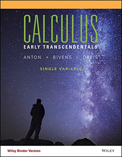 Top calculus early transcendentals 11th edition anton for 2020