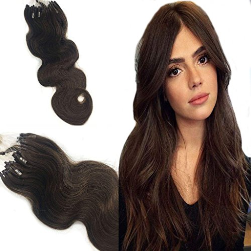 Googoo Remy Micro Loop Ring human hair extensions