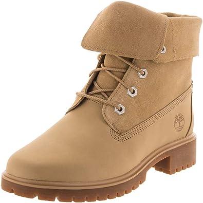 Asser académico dividir  Amazon.com: Timberland Jayne - Botas plegables para mujer, Marrón, 10: Shoes