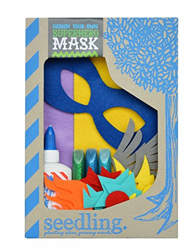 Own Mask Kit - Seedling Design Your Own Superhero Mask Dress up Activity Kit