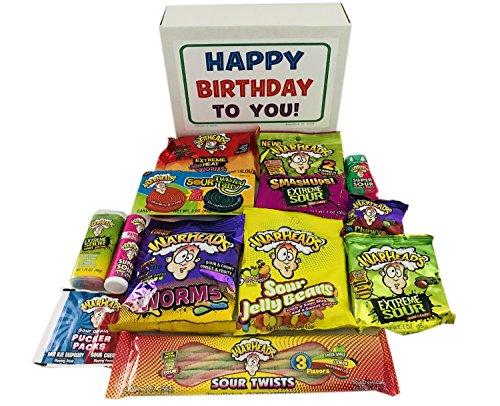 Birthday Gift Kids Warheads Sour Candy Assortment: War Heads