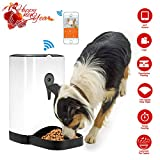 SmartFeeder,pet Automatic Pet Feeder Wireless Camera for Dog or Cat,Control by Mobile App Controlled by IOS Andorid or other smart devices
