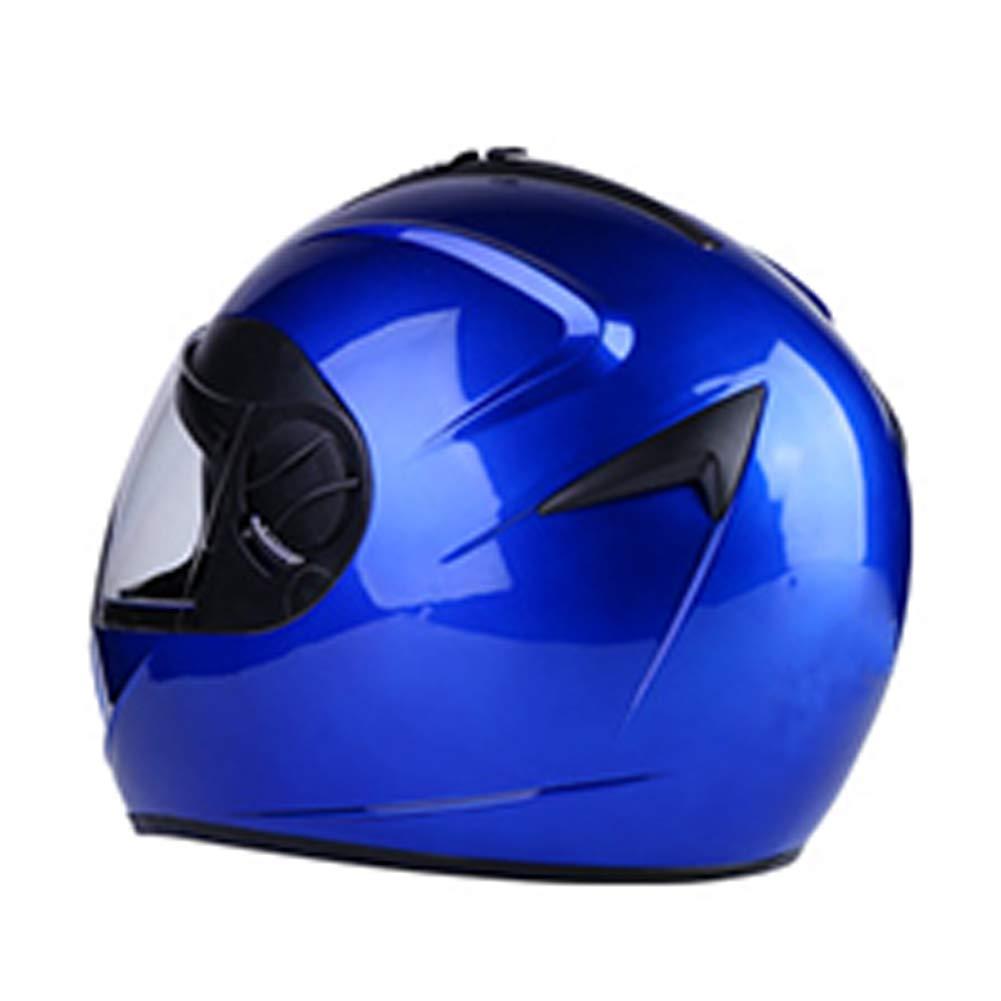 Double Lens Motorcycle Helmet, Double Mirror Full Face Helmet, and Male and Helmet, Female Electric Car Helmet, Winter Anti-Fog Warm Detachable Scarf b3bff6
