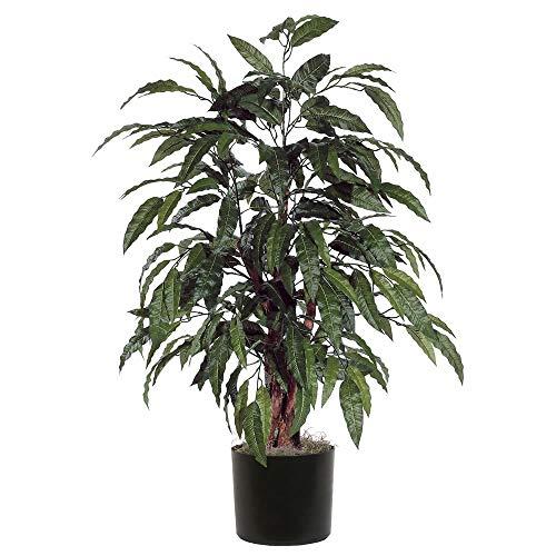 Vickerman TBU2840-06 Everyday Mango Bush, Green, 4' (Renewed)