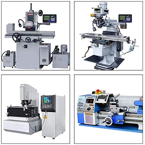 Details about  /LCD Digital Readout DRO 3 Axis With 0-1000mm Glass Linear Scale Milling Lathe