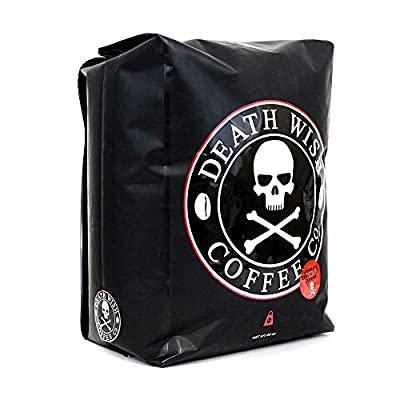 Death Wish Dark Roast Ground Coffee - 5 Pound