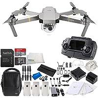 DJI Mavic Pro Platinum FLY MORE COMBO Collapsible Quadcopter Drone Videographer Bundle