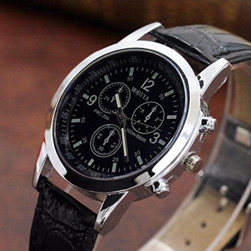 MOKO-PP Belt Sport Quartz Hour Wrist Analog Watch (C, Free Size) by MOKO-PP (Image #3)