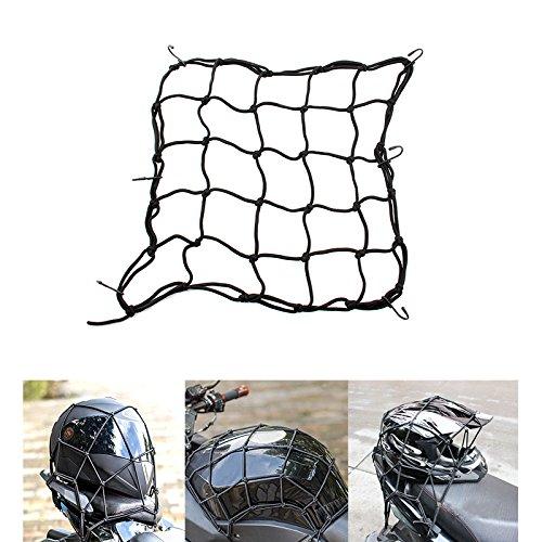 OyOCycle Motorcycle Motorcycle Luggage Net Rope Bike Bungee Tank Helmet Web Cords Mesh Cargo Net Hook