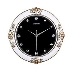 large European style Minimalist art wall clock Creative Quartz clock decoration Wall clock bedroom Mute Pocket watch Crafts