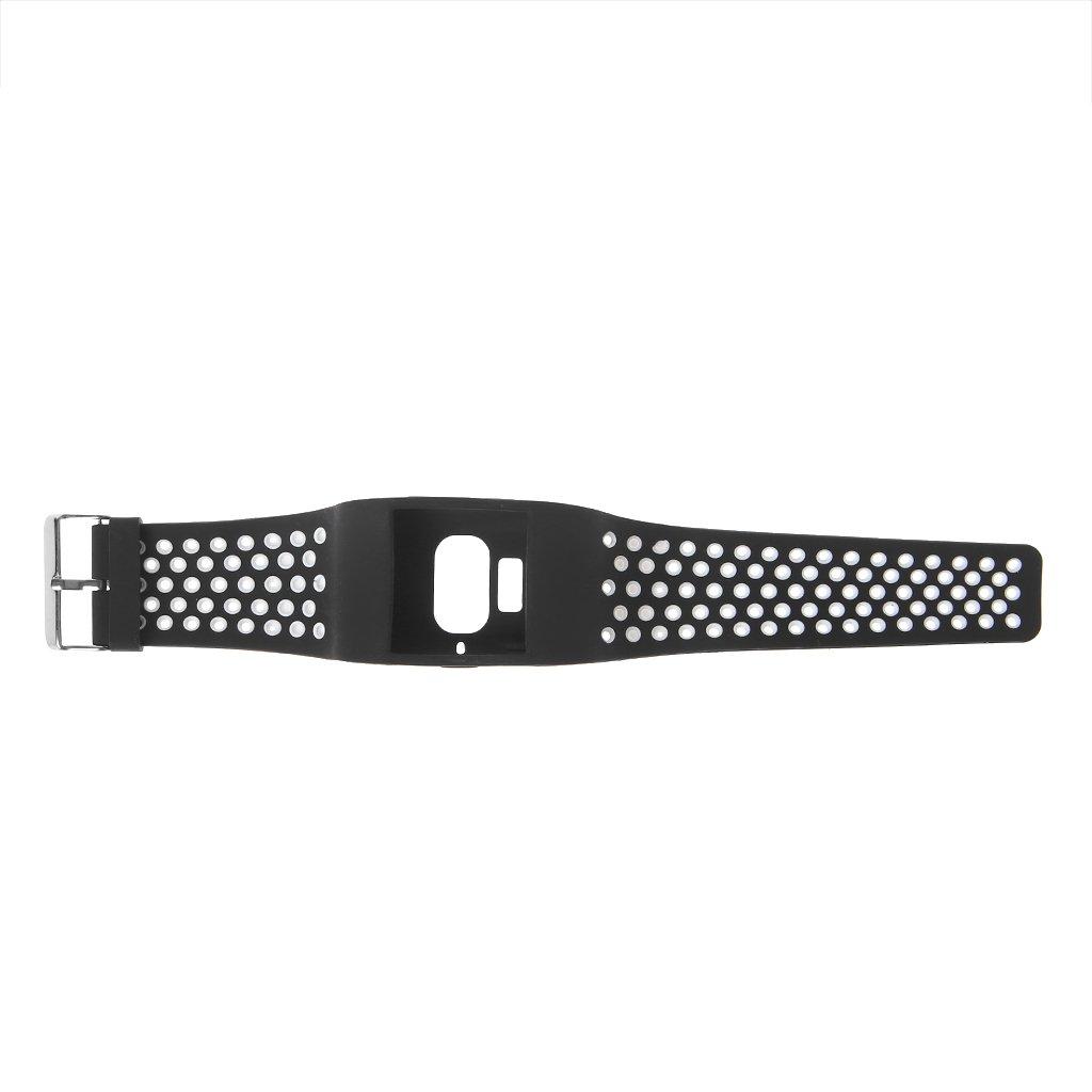 BYNNIX 交換用腕時計 ダブルカラーストラップ Fitbit Surge スマートウォッチ用   B07KCQXQPY