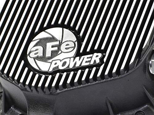 aFe Power 46-70012 Dodge and GM Diesel Rear Differential Cover (Machined; Pro Series)