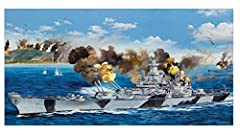Following up on the 1/200 Arizona, Bismarck, and Missouri, Trumpeter announces the release of this famous US Battleship in massive 1/200 scale. The USS Iowa was the lead ship of her class of battleship, and was the only ship of her class to h...