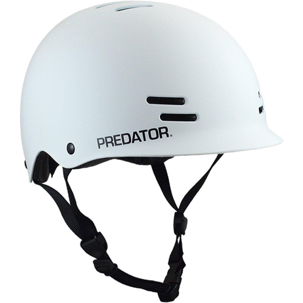 Predator cascos FR7monopatín casco–blanco mate (Certificado)–XS/pequeño Predator Helmets