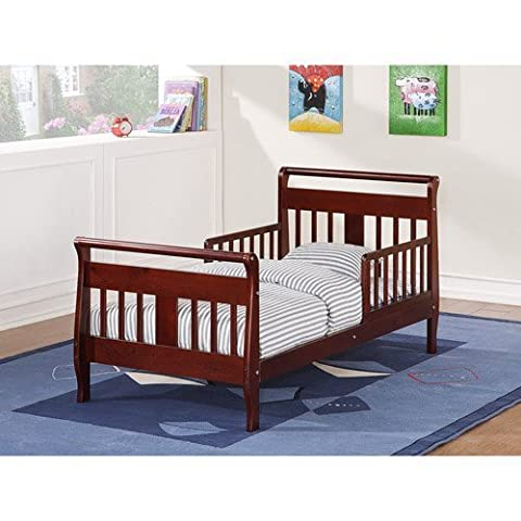 Baby Relax Toddler Bed, Cherry - Mouse Sleigh