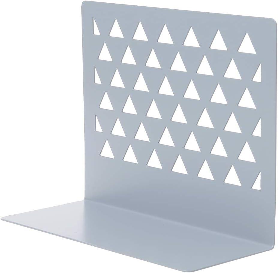Mayoaoa Serre-livres en m/étal pour bureau 15 x 7 x 12,5 cm PLGY