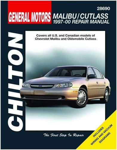 Oldsmobile Manual Supreme Cutlass - Chilton Malibu/Cutlass 1997-2000 Repair Manual (28690)