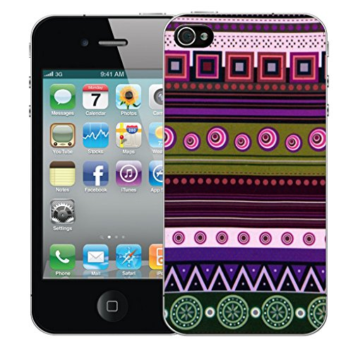 Mobile Case Mate iPhone 5 Silicone Coque couverture case cover Pare-chocs + STYLET - Ethological pattern (SILICON)