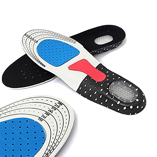 De Men Pad Orthotic Insert Sunsbell Semelles Chaussures Course Gel Support Cushion Arch Sport qxpOgw7I