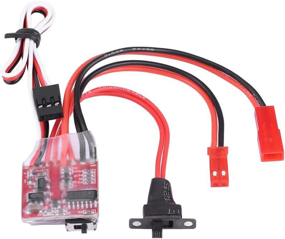 Zouminy 30A Brushed ESC Winch Switch Controller f/ür 1//10 RC Crawler Automodell Fahrzeugzubeh/ör