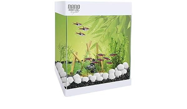 Aqualed Acuario Pequeño con Led Nano 20L/30L (30 litros): Amazon.es: Productos para mascotas