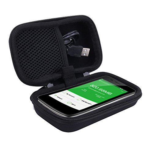 Travel Hard Case for GlocalMe 4G LTE Mobile WiFi Hotspot fits G3 by Aenllosi (Black) by Aenllosi