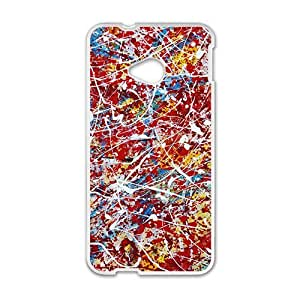 Artistic aesthetic scrawl fashion phone case for HTC One M7