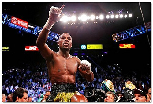 Tomorrow sunny Floyd Mayweather Champion Boxer Boxing Art Si