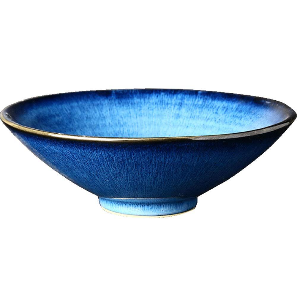 Liuwenan Menaje de vajilla para el hogar Blues Ceramic Bowl 8.5 ...