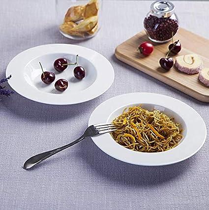 fszyzbw Piatti Bianchi semplici e creativi, Piatto del