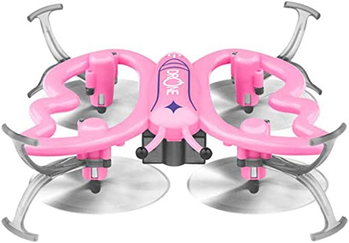 OUYAWEI LED mariposa dron Quadrotor UFO Hover Sensor Unmanned ...