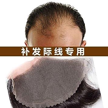 Amazon.com: Peluca de pelo de repuesto pieza de pelo frente ...