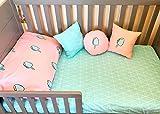 ice cream crib sheet - Ice cream bedding for kids, bedding for girls, comforter, duvet set, fitted sheet, Crib - IKEA size - Twin