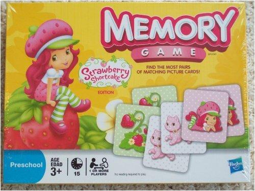 Emily Erdbeer Strawberry Shortcake Edition Memory Game aus den USA