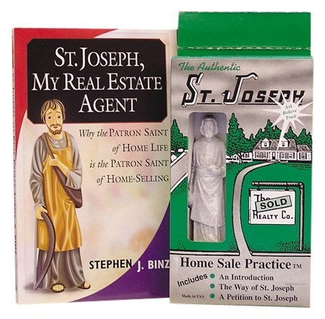 St. Joseph, My Real Estate Agent/The Authentic St. Joseph Home Sale Practice by Stephen J. Binz (31-May-2004) Paperback ()