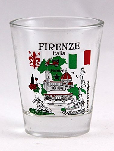 Florence Italy Great Italian Cities Collection Shot Glass -