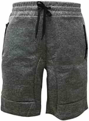903762ac01 Realdo Men's Sport Shorts, Pocket Casual Elastic Waist Training Jogger Short  Pants