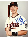 MITCH GARVER MINNESOTA TWINS SIGNED AUTOGRAPHED W/ BAT 8X10 PHOTO W/COA