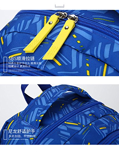 Backpack Bag Waterproof And University Female Junior High Blue Male Leisure School Travel Student Light qCvYAg